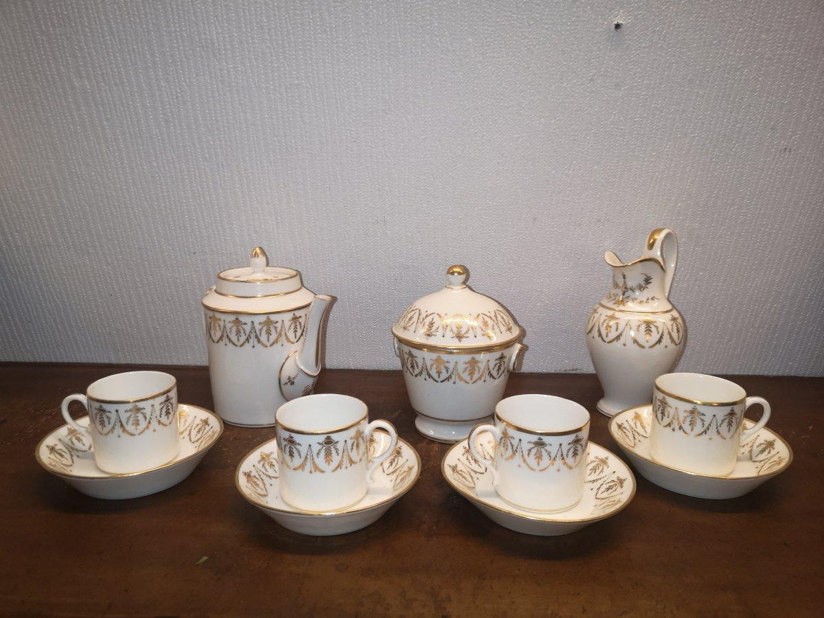 19th Century Porcelain Tea Service