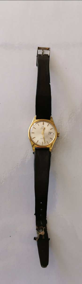 Omega Gold Plated Watch