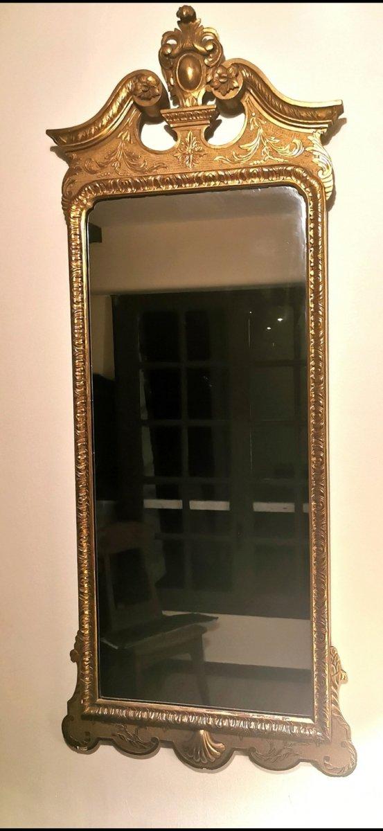 Miroir Doré d'Entre Deux Superbe