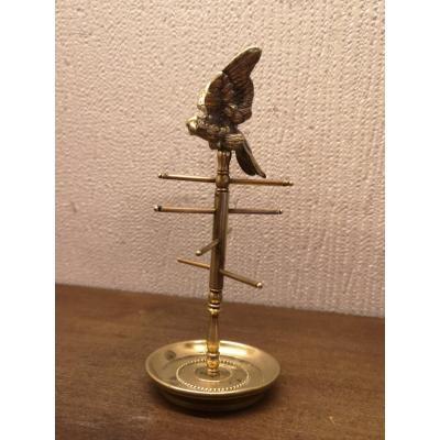 Baguier Perroquet Bronze