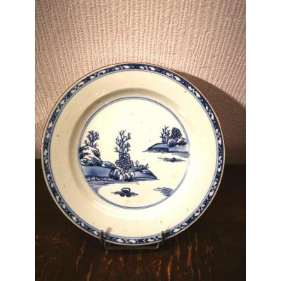 Assiette Porcelaine De Chine 18 ème