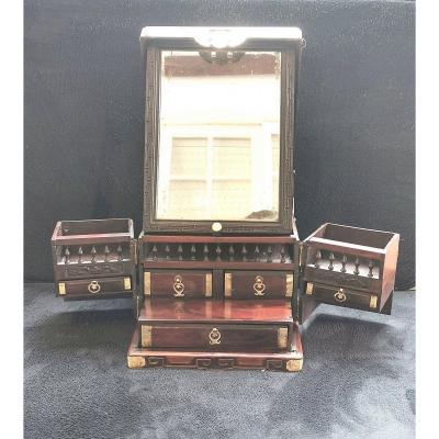 Cabinet De Voyage, Chine 18 ème