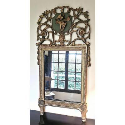 18th Louis XVI Provençal Mirror