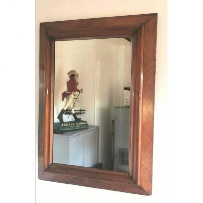Louis Philippe Walnut Mirror