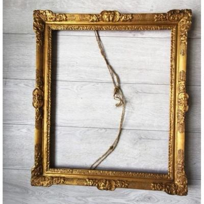 Louis XIV Louis XV Golden Wood Frame