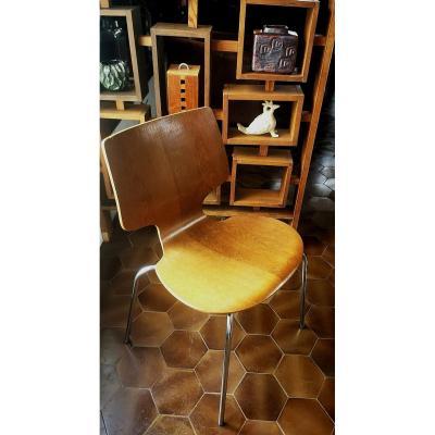 Model 3103 Chair By Arne Jacobsen For Fritz Hansen, 1950s Oak