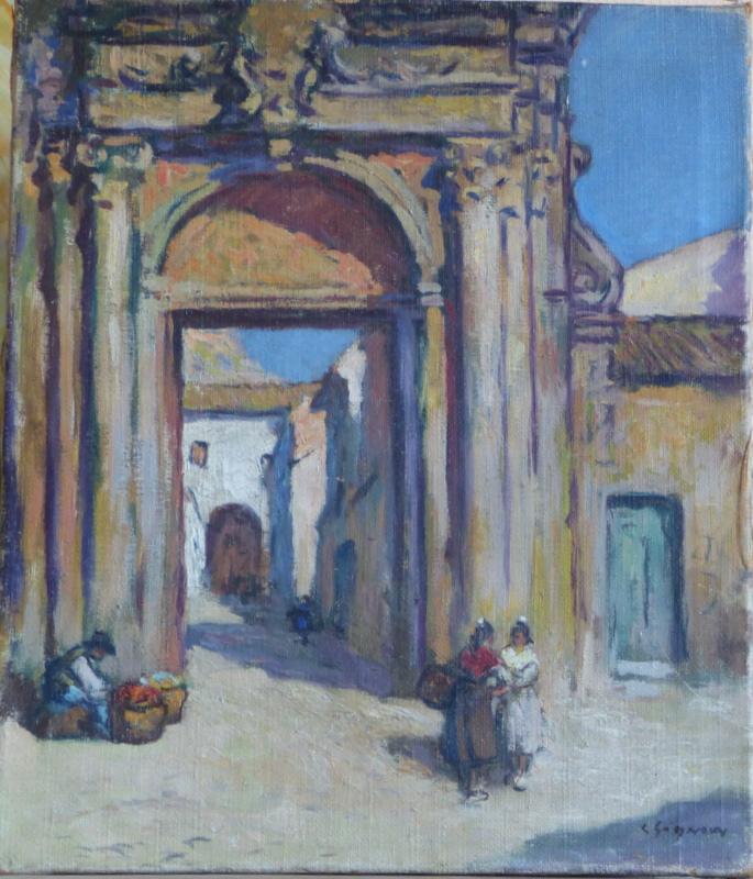 Porte de la Chartreuse de Villeneuve Les Avignon