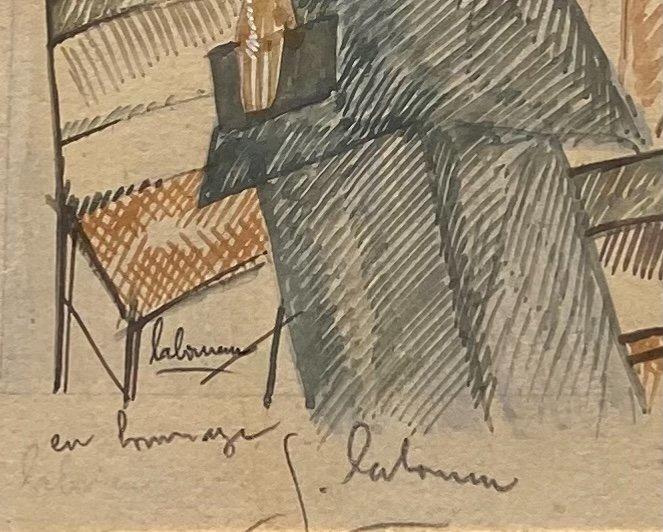«Le Salon de Thé» - Jean Émile Laboureur (1877-1943)-photo-1
