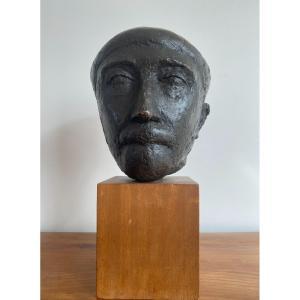 Marcel Gimond (1894 - 1961) - Magnifique portrait de Stanislas Fumet