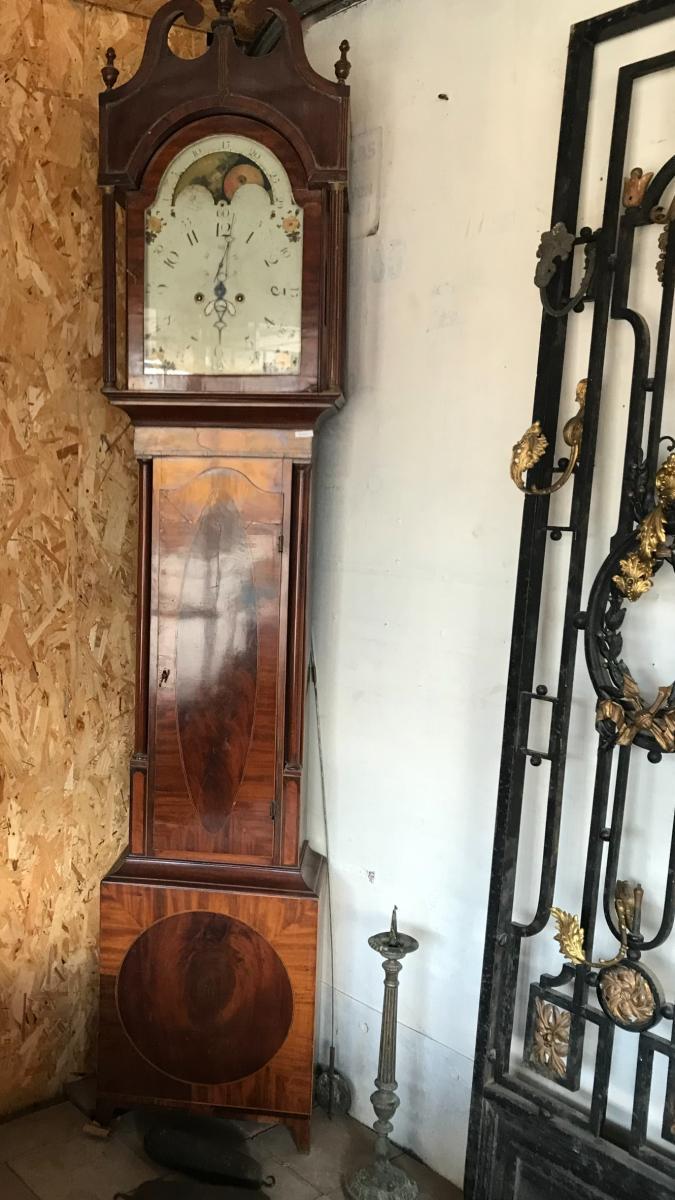"English Floor Clock Dite ""grandfather"""