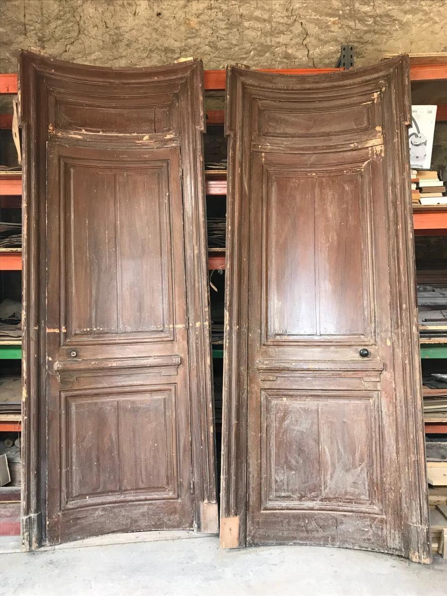 Pair Of Very Large Doors In Hanger