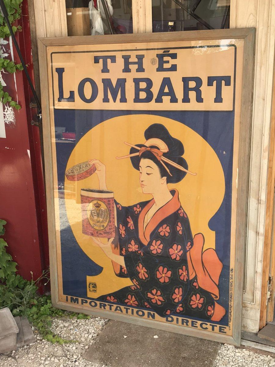 Grande Affiche 1901 -thé Lombart