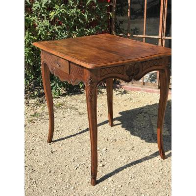 Walnut Regency Table