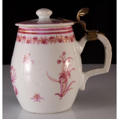 Moutardier En Porcelaine De Chine Compagnie Des Indes XVIIIème