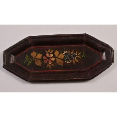 Painted Sheet Mouchettes Tray Directoire Period