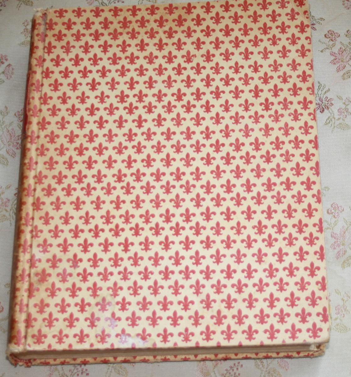 "Livre ""Fedra "" De Gabriel d'Annunzio Edité1909 Milan Treves"
