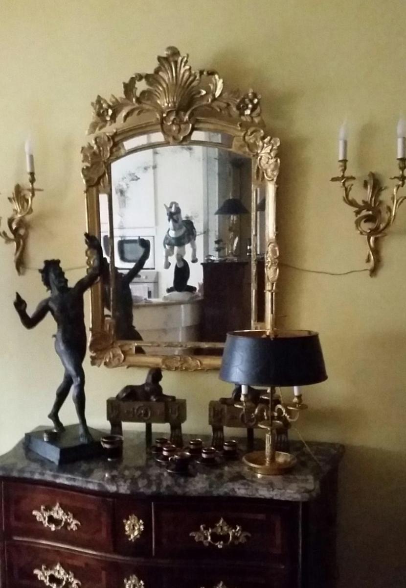 Une paire  d'appliques de Style Louis XV