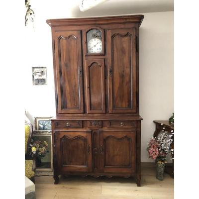 Two Body Sideboard With Clock End 18 Eme