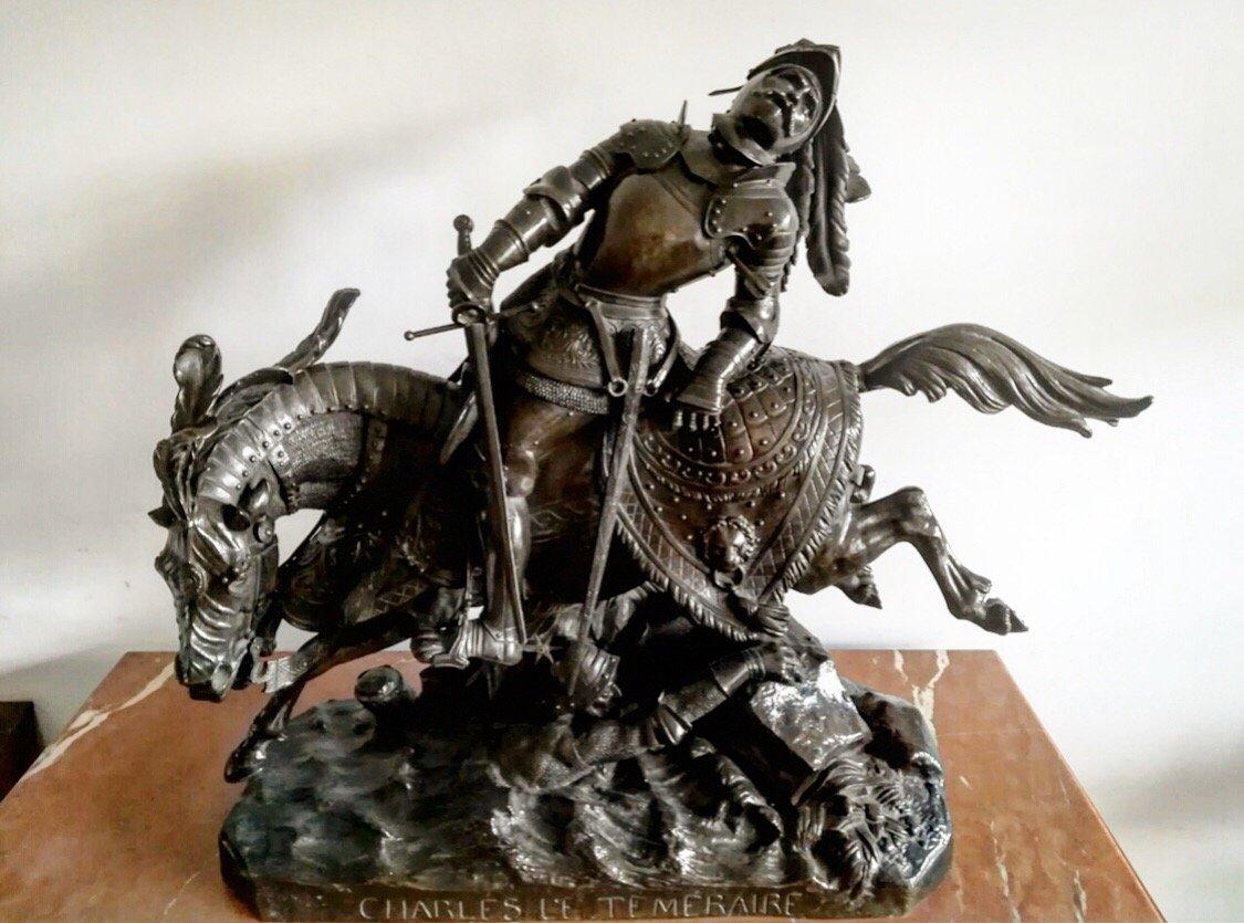 Jean-françois-théodore Gechter (french, 1796–1844) Bronze