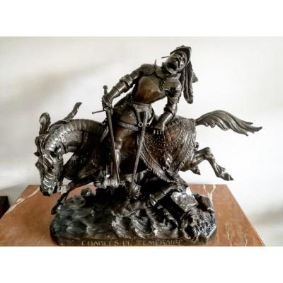 Jean-françois-théodore Gechter (french, 1796-1844) Bronze