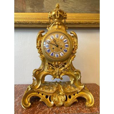 Jean-Francois Deniere (1774−1866) horloge Pendule en bronze