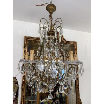 Suite Lustres En Cristal De Style Louis XVI