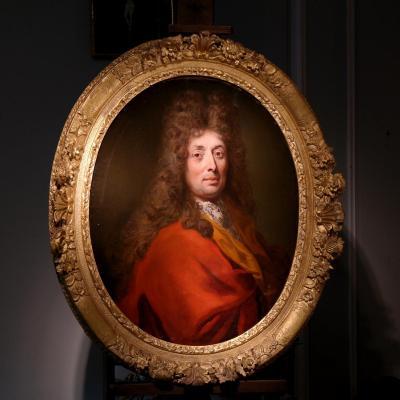 Robert LEVRAC-TOURNIÈRES 1667-1752 - Portrait d'Homme.