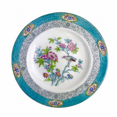 Assiette Minton Cuckoo Coucou bleue 3084