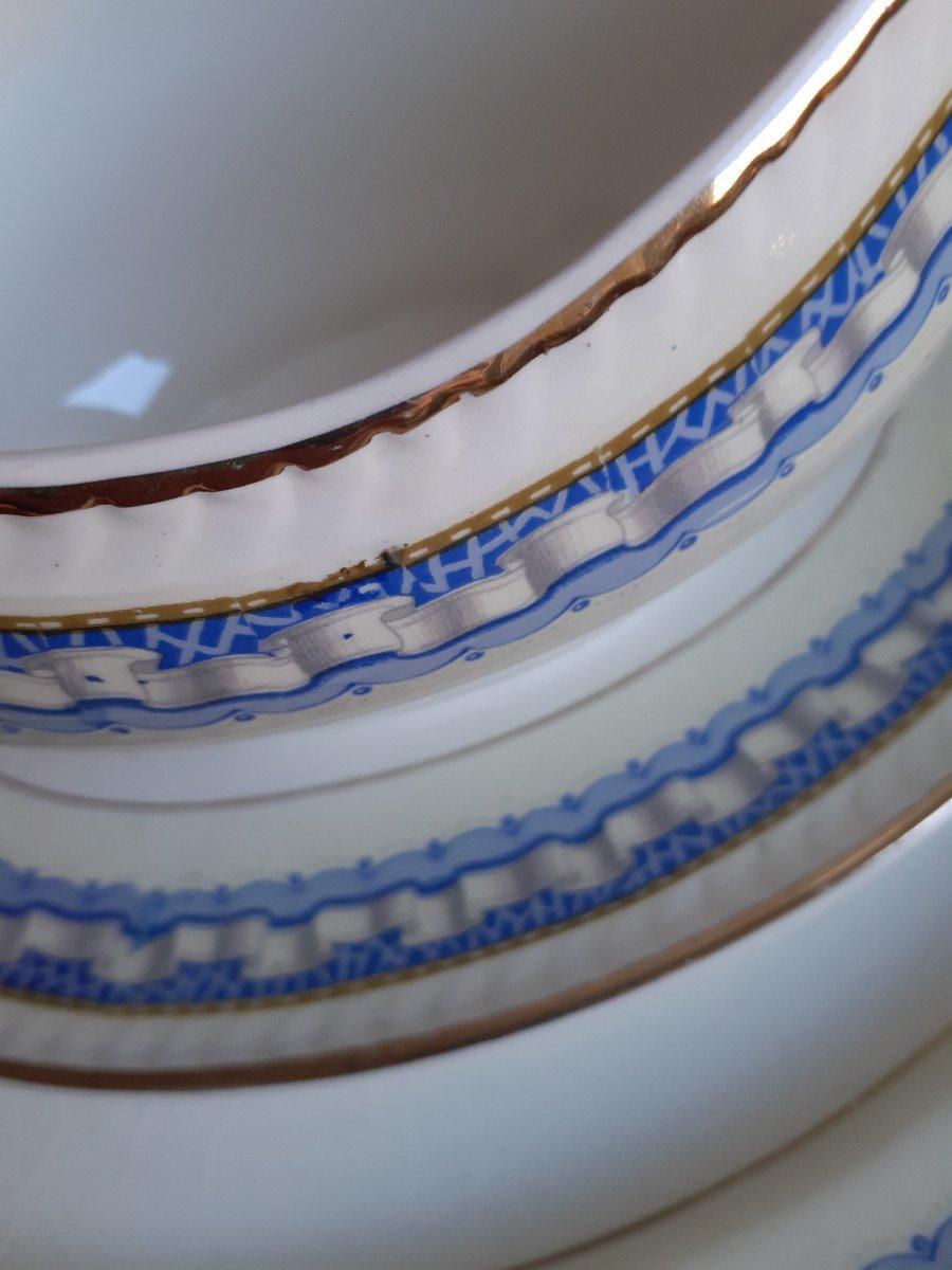 Service de Table Portland Pottery Cobridge Regal Works Staffordshire  28 pièces-photo-2