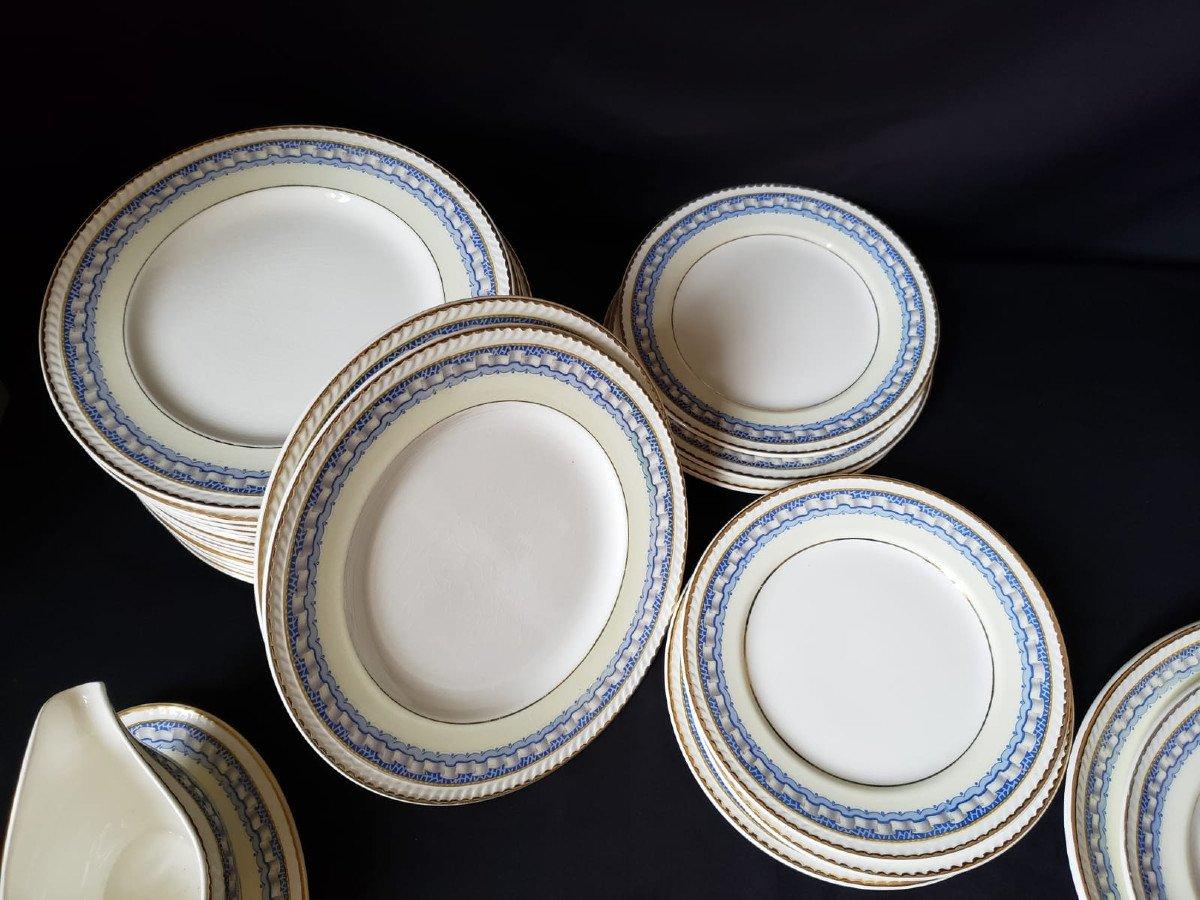 Service de Table Portland Pottery Cobridge Regal Works Staffordshire  28 pièces-photo-5