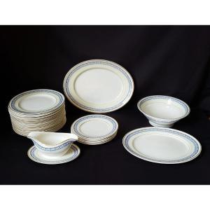 Service de Table Portland Pottery Cobridge Regal Works Staffordshire  28 pièces