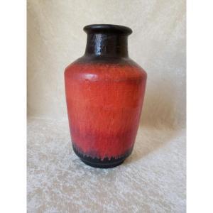 Vase Fat Lava Cartens Tonnieshof  West Germany 1950