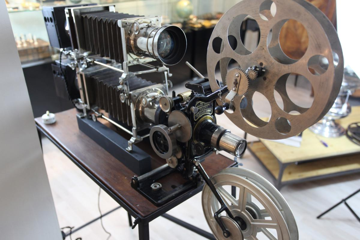 Projecteur Kinétoscope Thomas Edison
