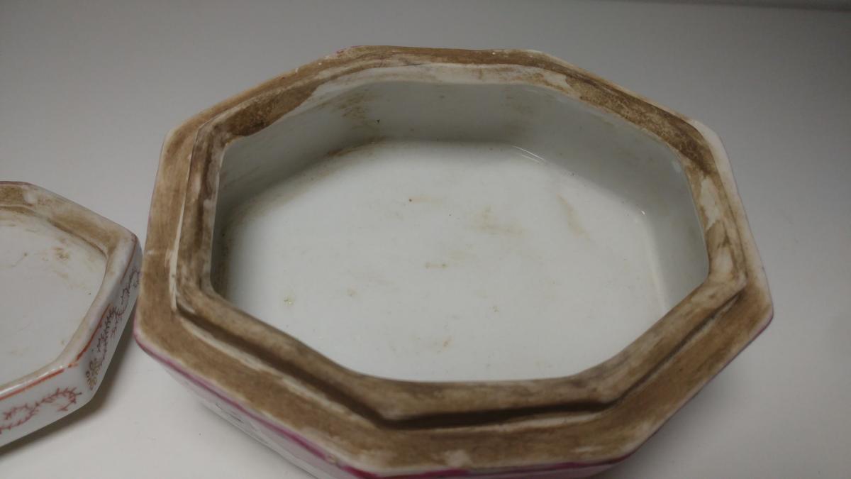 Boite En Porcelaine d'Asie-photo-4