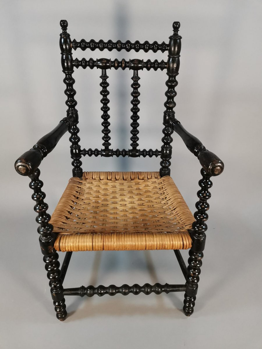 19th Century Turned Chair Model