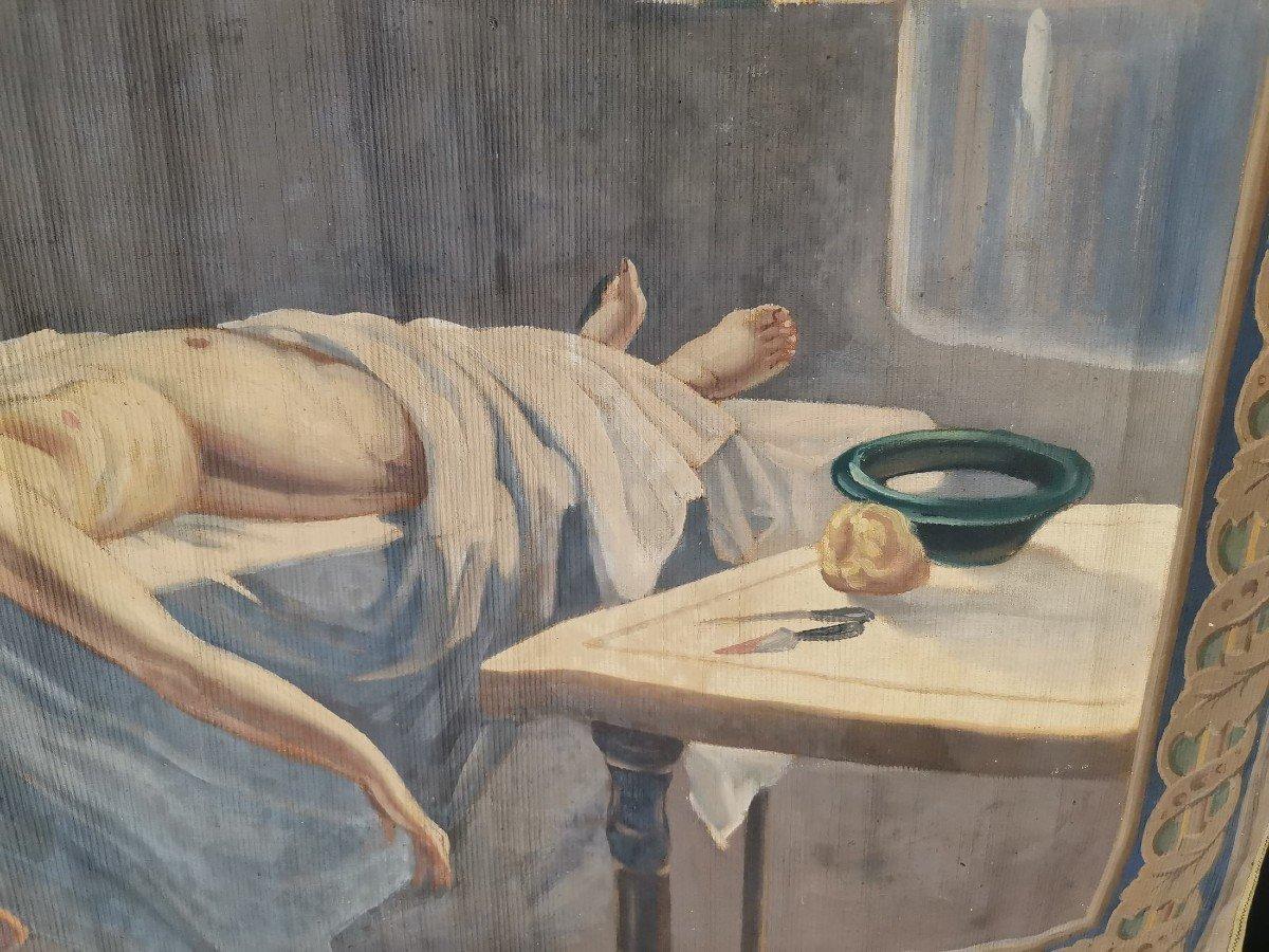 Oil On Canvas 1900-photo-1