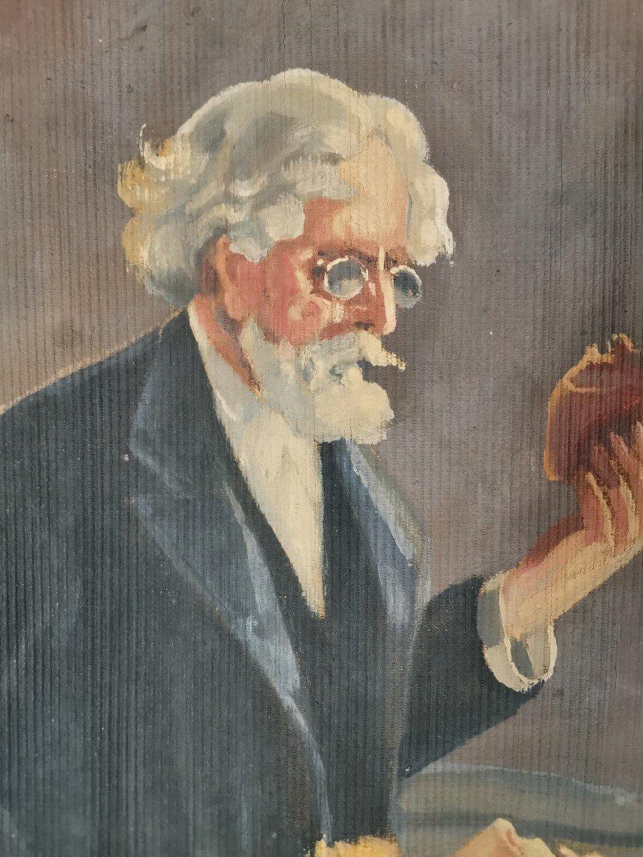 Oil On Canvas 1900-photo-5