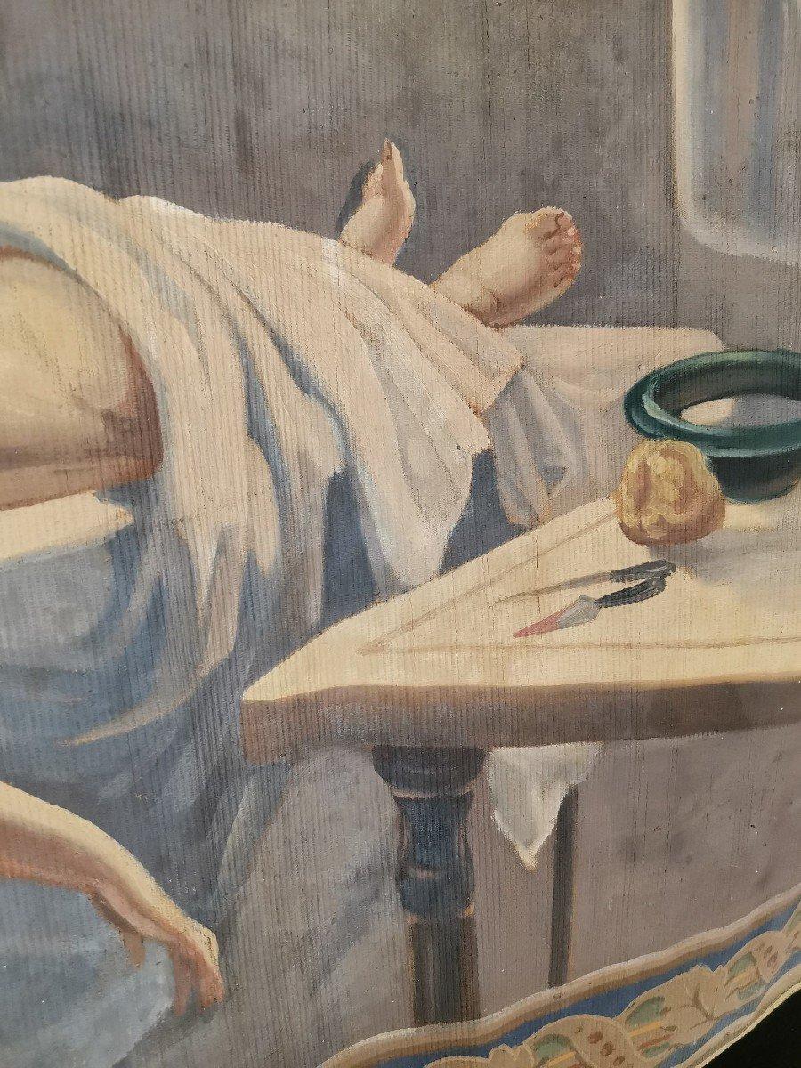 Oil On Canvas 1900-photo-6