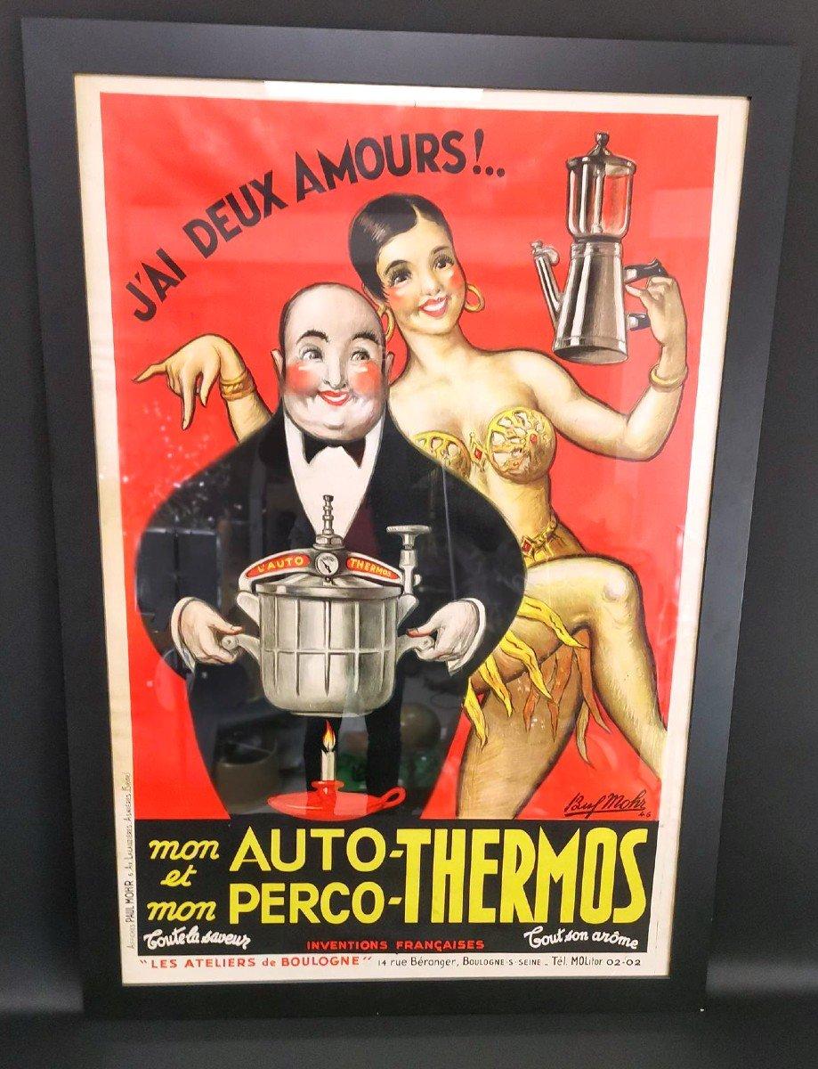 Grande Affiche Auto-thermos - Josephine Baker (1946)
