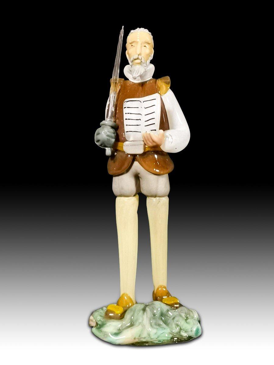 Cristal De BohÈme Don Quichotte AnnÉes 50
