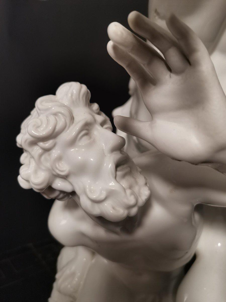 Un Groupe De Porcelaine Du Revissement  Xox Eme  De Sabine 77 Cm-photo-1