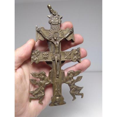 Caravaca Hispano Cross From The 17th Century