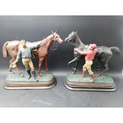 Hot Topics: Jockey And Her Horse