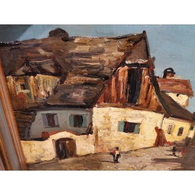 Hans Ruzicka-lautenschlaeger Oil On Canvas