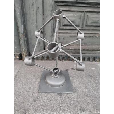 Artist Iron Sculpture
