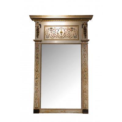 Miroir Italien Du XVIIIème Siècle, Grande Taille