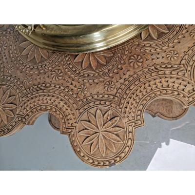 XIXth Century Solid Wood Coffee Table