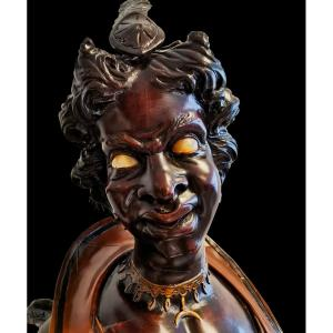 Mrs Devil 'hall Figurine Attributed To Francesco Toso