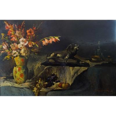 Tableaux Nature Morte, Portée française, Début XXe Siècle