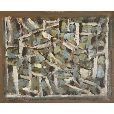 Pierre Coquet - Abstract Composition (a121)